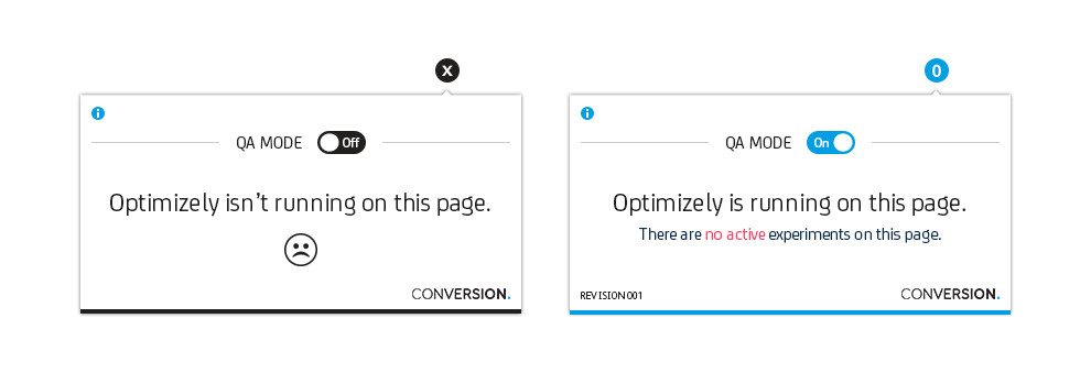 optimizely extension QA