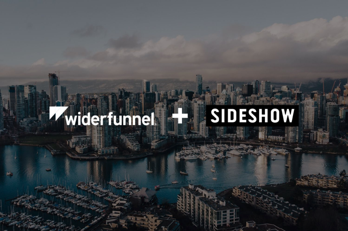 Press release: Widerfunnel joins the Sideshow Group